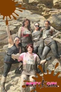 mud run group shot